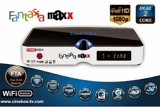 CINEBOX FANTASIA MAXX HD 3 TURNERS NOVA ATUALIZAÇÃO - 04/12/2015