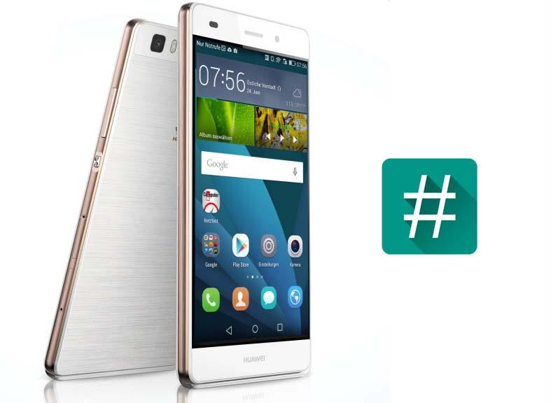 Huawei manuale p8 lite