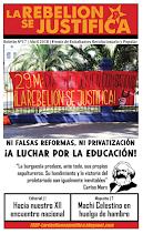 La Rebelión se Justifica N°17, Abril 2018
