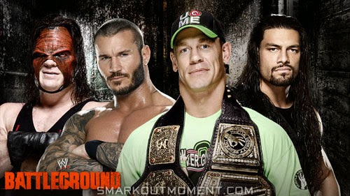 John Cena defends WWE World Heavyweight Championship at Battleground 2014 PPV