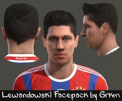 R. Lewandowski Facepack by Grkm