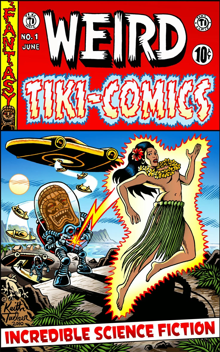 """Weird Tiki Comics!"""