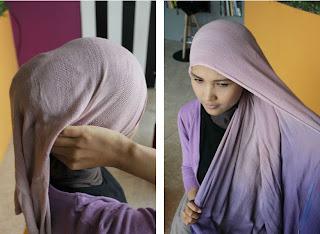 Tutorial Hijab Bergelombang