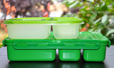 GoGreen Lunchbox EasyLunchboxes Go Green Size Comparison