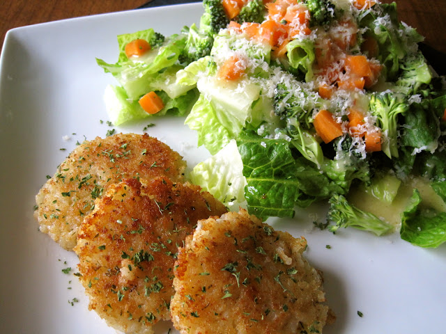 Risotto Cakes No Breadcrumbs