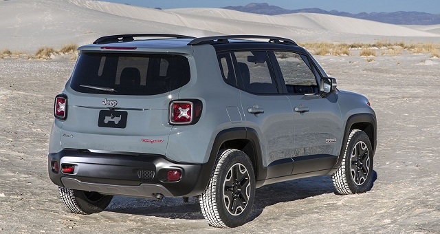 2016 Jeep Renegade Pictures