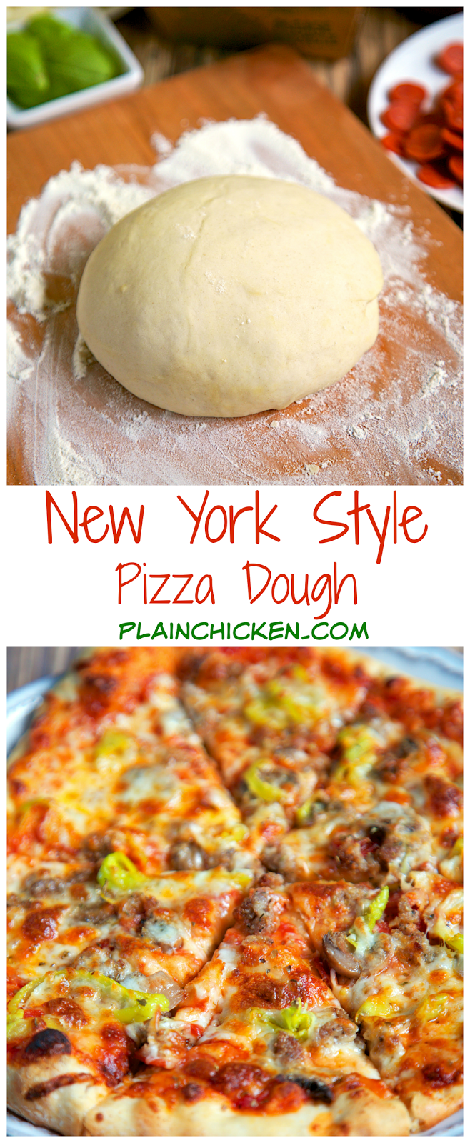 how to make ny style pizza