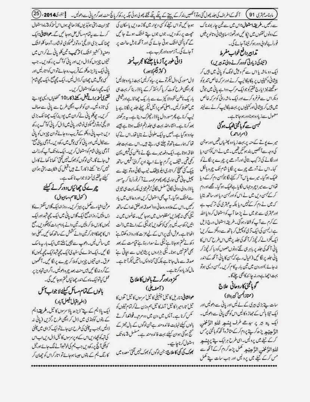 page 25 ubqari january 2014
