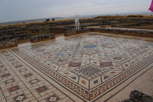 colonia_romana_clunia_visita_burgos_mosaico
