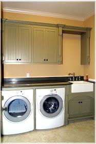 Dog Washing Station In Laundry Room Drying Racks