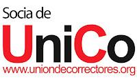 Socia profesional de la Unión de Correctores