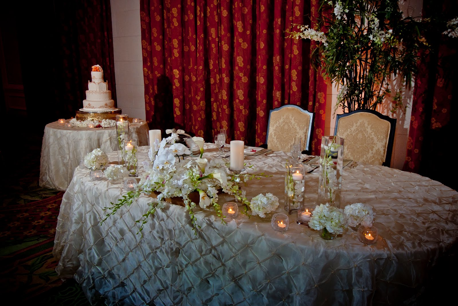 Decoration For Bride And Groom Table .