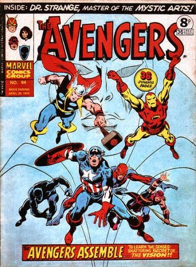 Marvel UK, Avengers #84