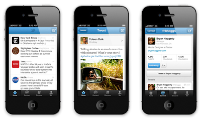 apple ios 4.1 twitter screenshot
