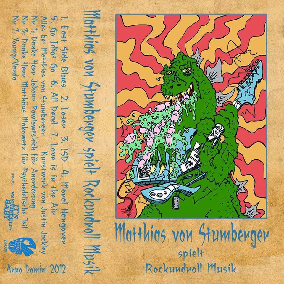 RELEASE: Matthias von Stumberger 'Rockundroll Musik' (cassette)