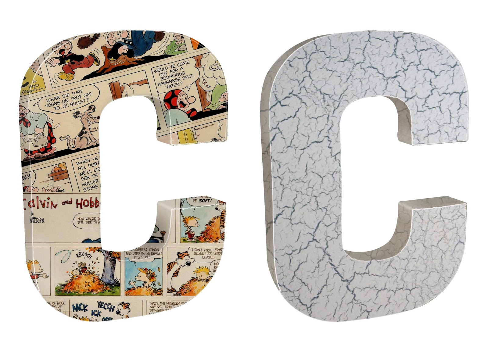 Sherwood creations paper mache letters for Finishing paper mache