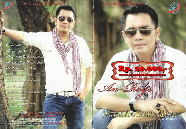 Anroys - Untuak Apo Bayang Manari (Album Pop Minang Melankolis)