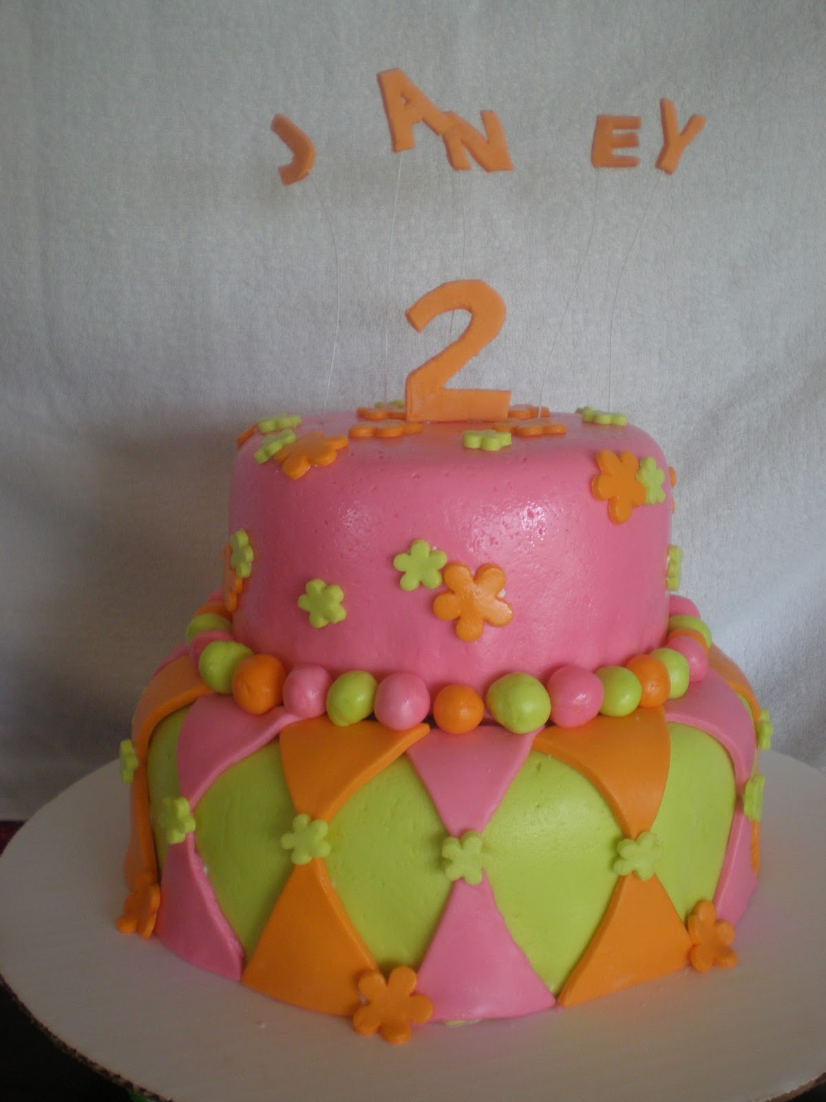 Aprils Aloha Cakes 2 Year Old Birthday Cake