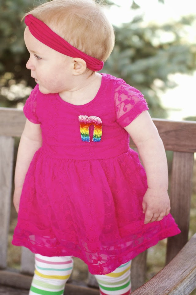 outfit idea for toddler girl for easter