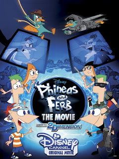 Phineas and Ferb the Movie 2011 Hindi Dual Audio BluRay | 720p | 480p