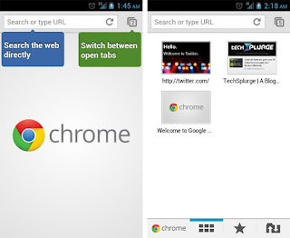 Description: Google Chrome for Android