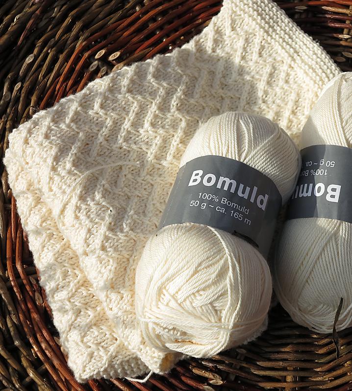 strikkede servietter