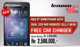 Harga Lenovo S890 Android Phablet