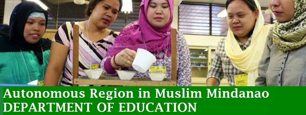 Welcome To DepEd ARMM