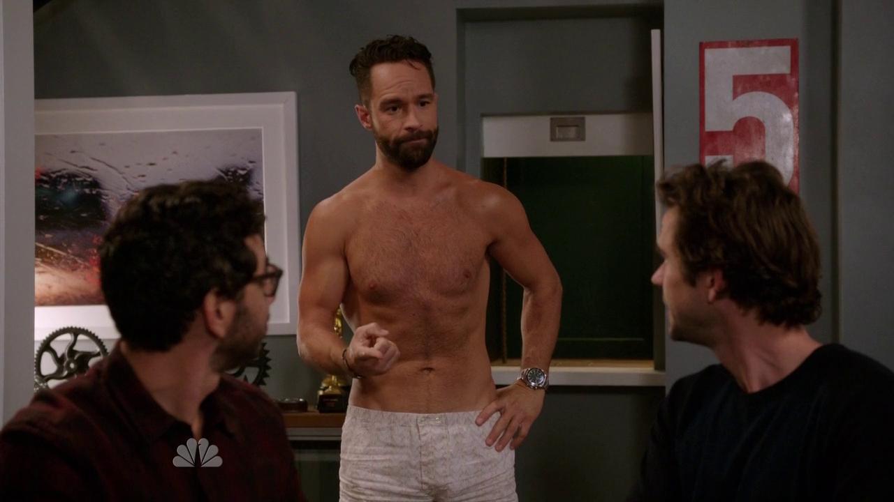 Shirtless Men On The B...