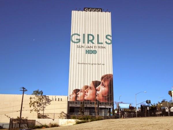 Giant Girls season 4 billboard Sunset Boulevard