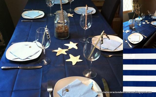 Decoraci n de mesas estilo marinero - Decoracion estilo marinero ...