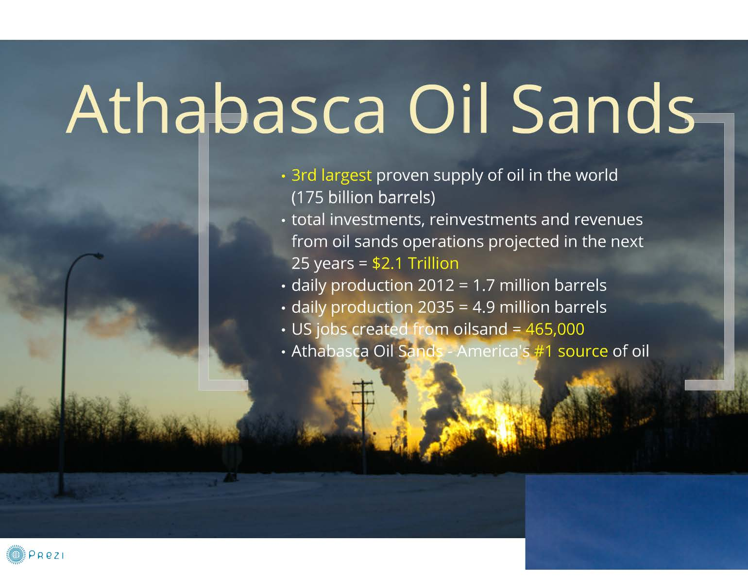 athabasca oil sands essay Oil sands can be used as an energy resource and the large quantities of deposits in canada eliminates the need to import oil from foreign countries this will create more jobs in canada for the processing of oil.