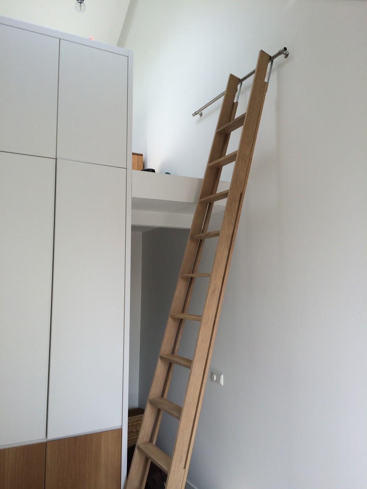 ladder hoogslaper zwart