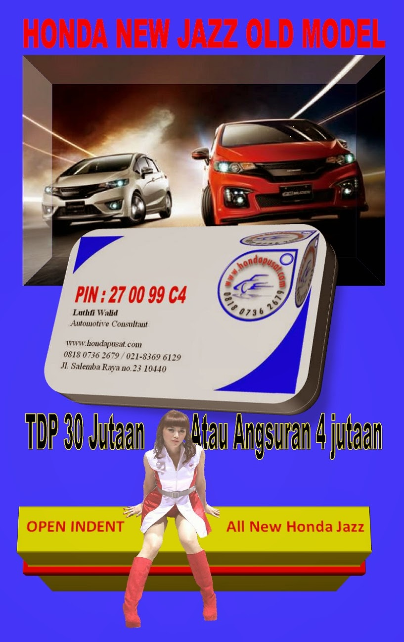 ALL NEW JAZZ JAKARTA READY STOCK 2014