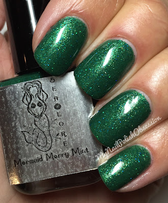 Sea Lore Polish Sea-son's Treatings; Mermaid Merry Mint