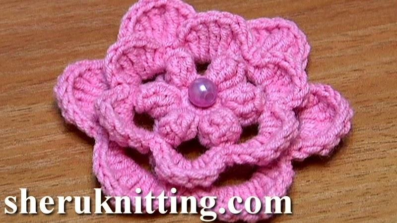 http://sheruknitting.com/videos-about-knitting/crochet-flower-lessons ...