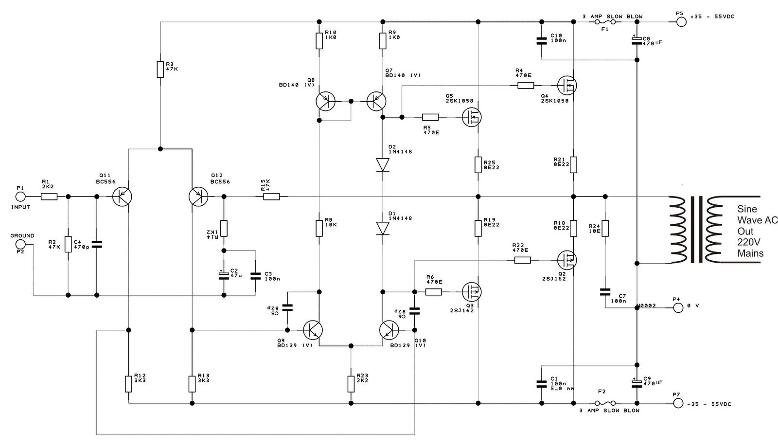 100ma Current Booster Circuit Diagram Tradeoficcom