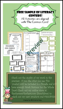 3rd grade common core language arts worksheets