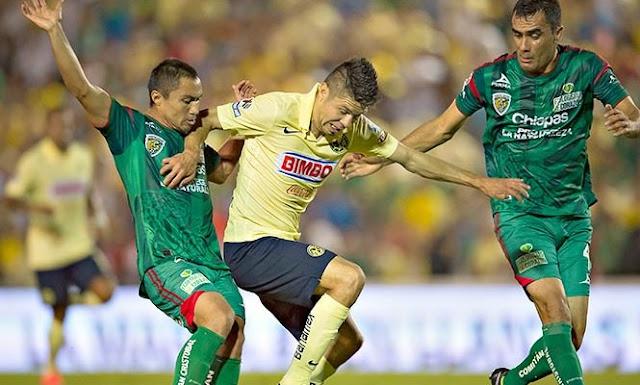 Ver partido America vs Jaguares Chiapas en vivo