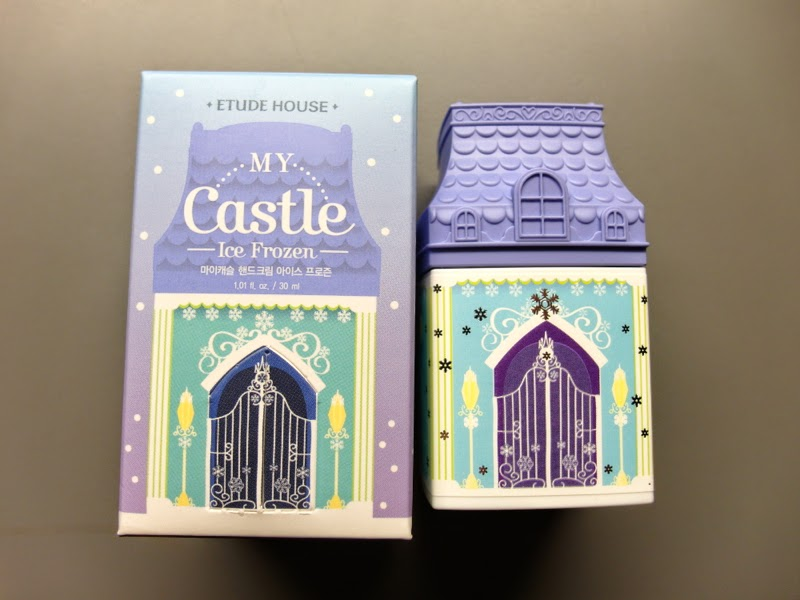 Etude House My Castle Ice Frozen Hand Cream Review lunarrive