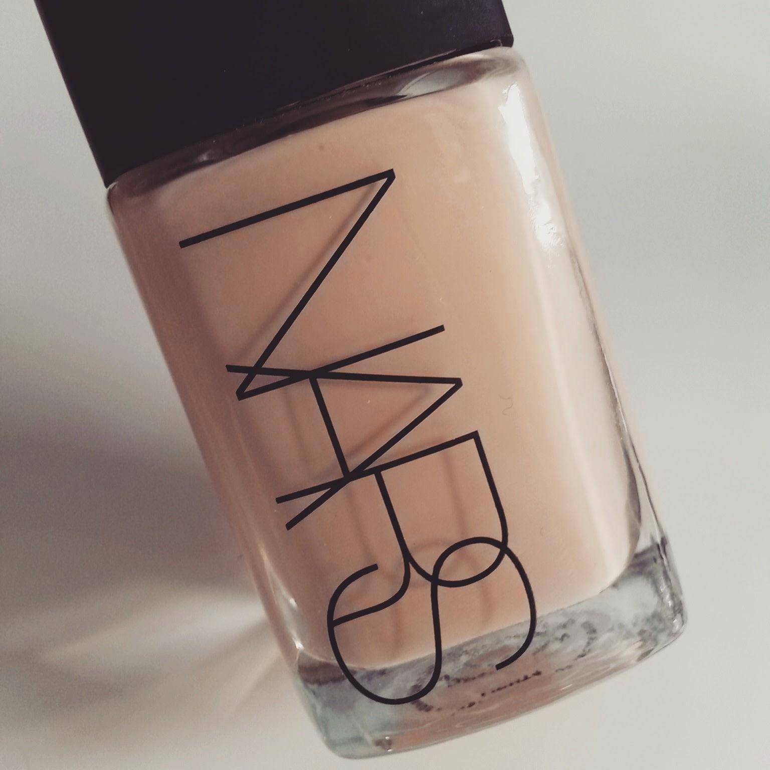 beauty makeup regrets 2015 - NARS sheer glow foundation