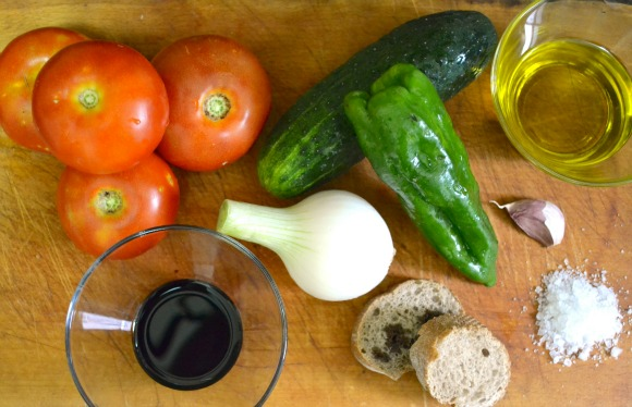 homemade gazpacho recipe