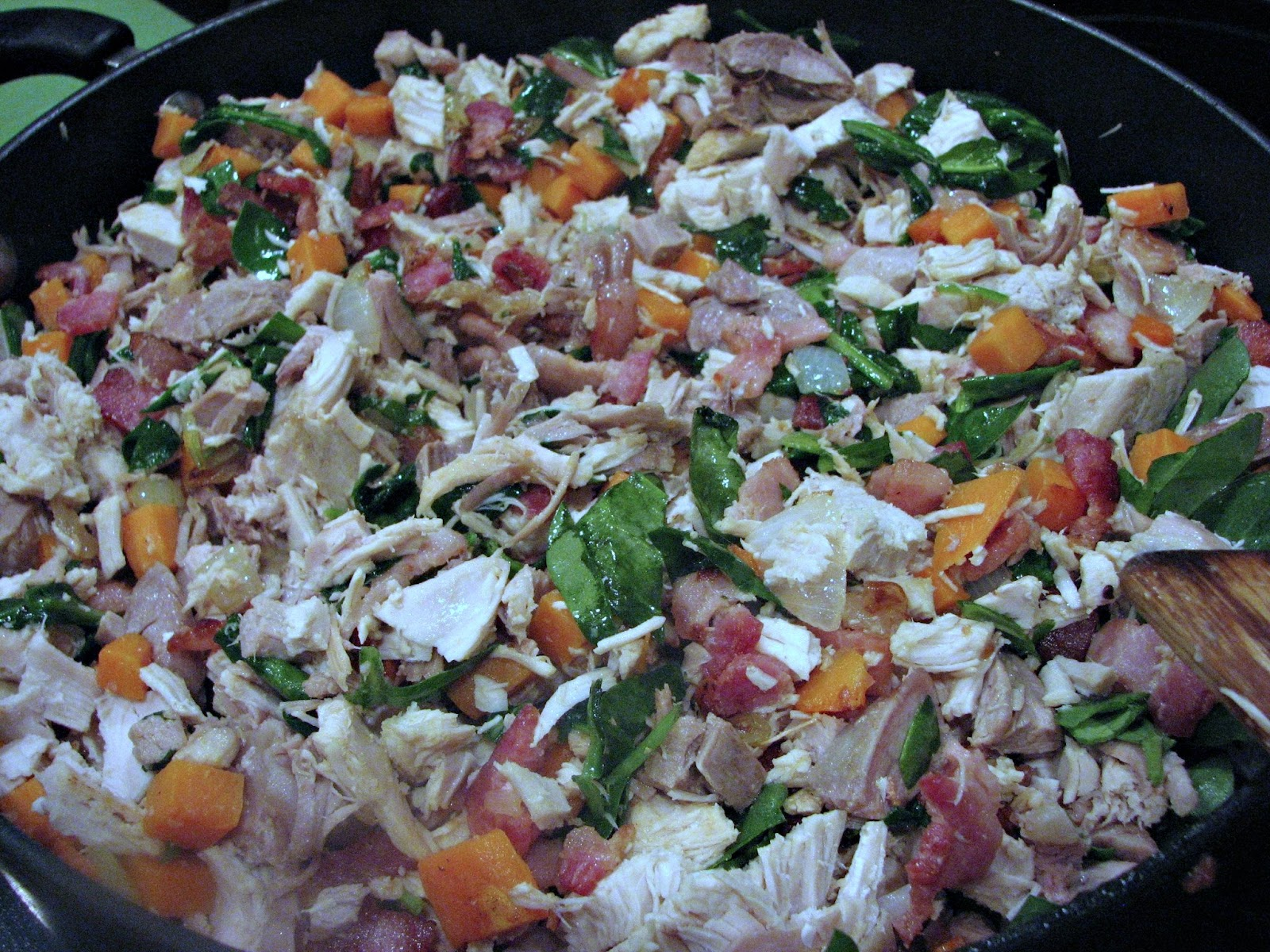 Paleo Turkey Sweet Potato Hash