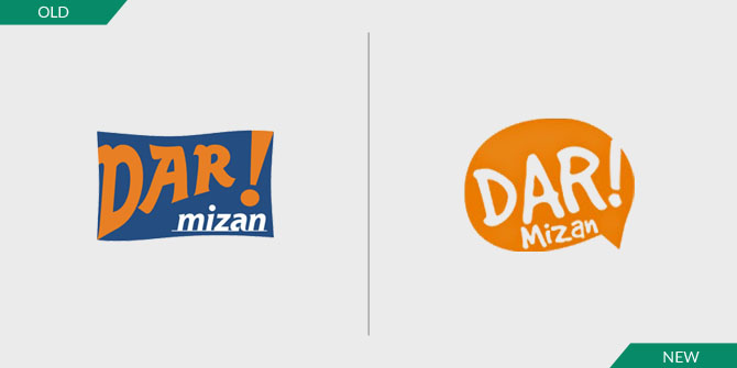 Logo Baru Dar! Mizan