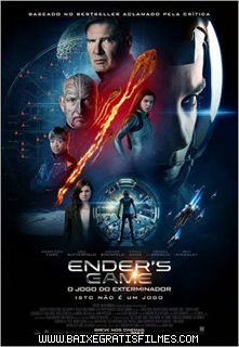 Ender's Game O Jogo do Exterminador  BDRip AVI Dual Áudio  RMVB Dublado