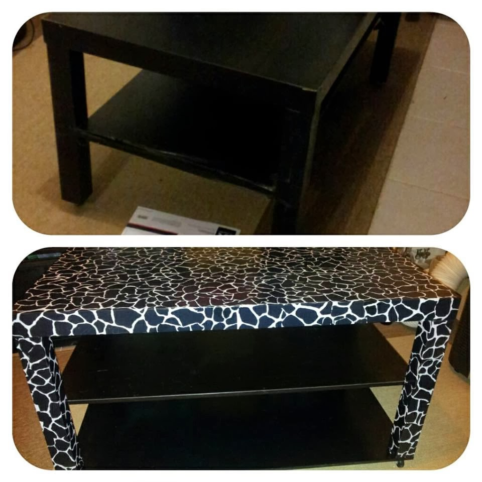 patoune et gribouille r paration customisation d 39 une table basse. Black Bedroom Furniture Sets. Home Design Ideas