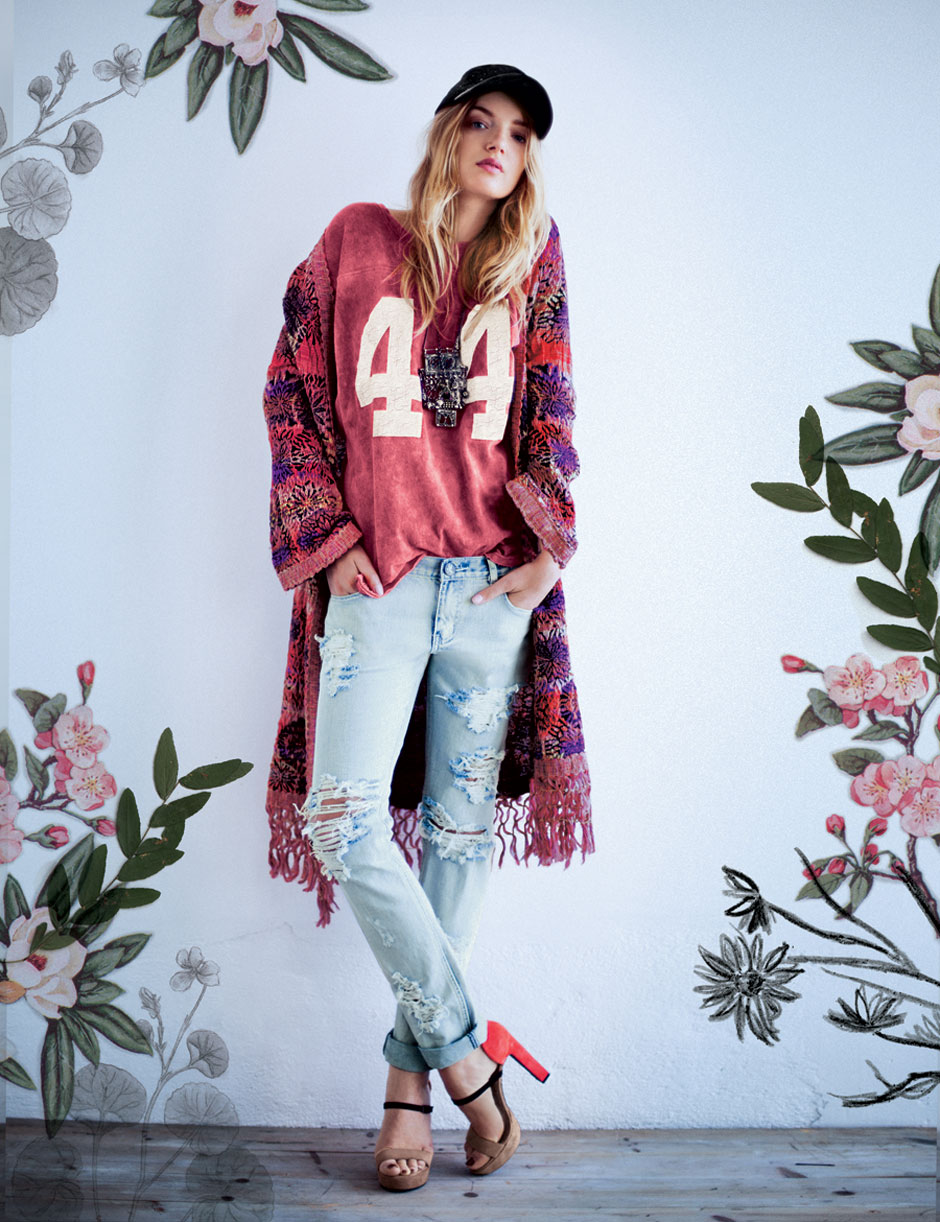 All carito fashion september 2012 - Lily Donaldson For Free People December 12 Campaign