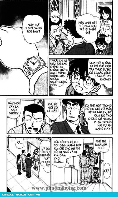 Detective Conan - Thám Tử Lừng Danh Conan chap 497 page 8 - IZTruyenTranh.com