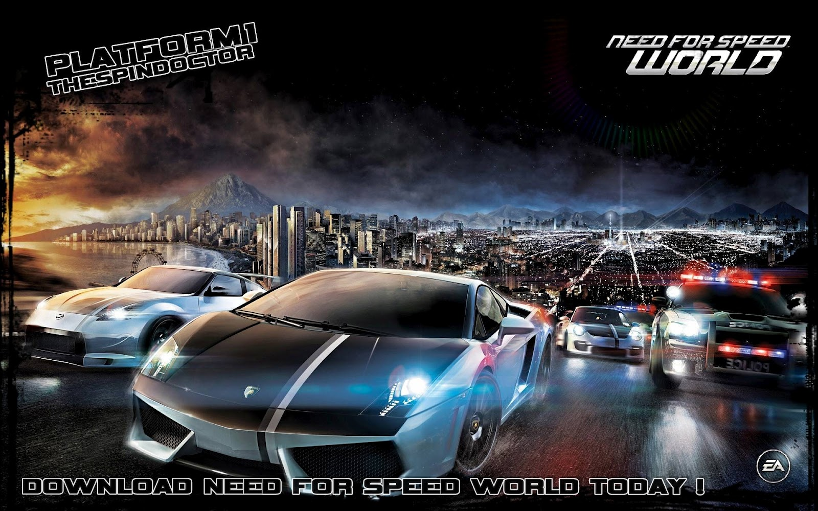 Need for Speed HD & Widescreen Wallpaper 0.0485779607855807