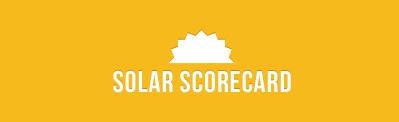 Solar scorecard logo